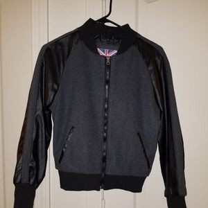 (SOLD) Synthetic leather jacket